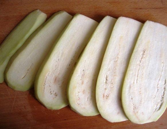 Рецепт Жареные баклажаны с сыром и чесноком