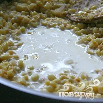 Морские гребешки со сливочной кукурузой - фото шаг 3