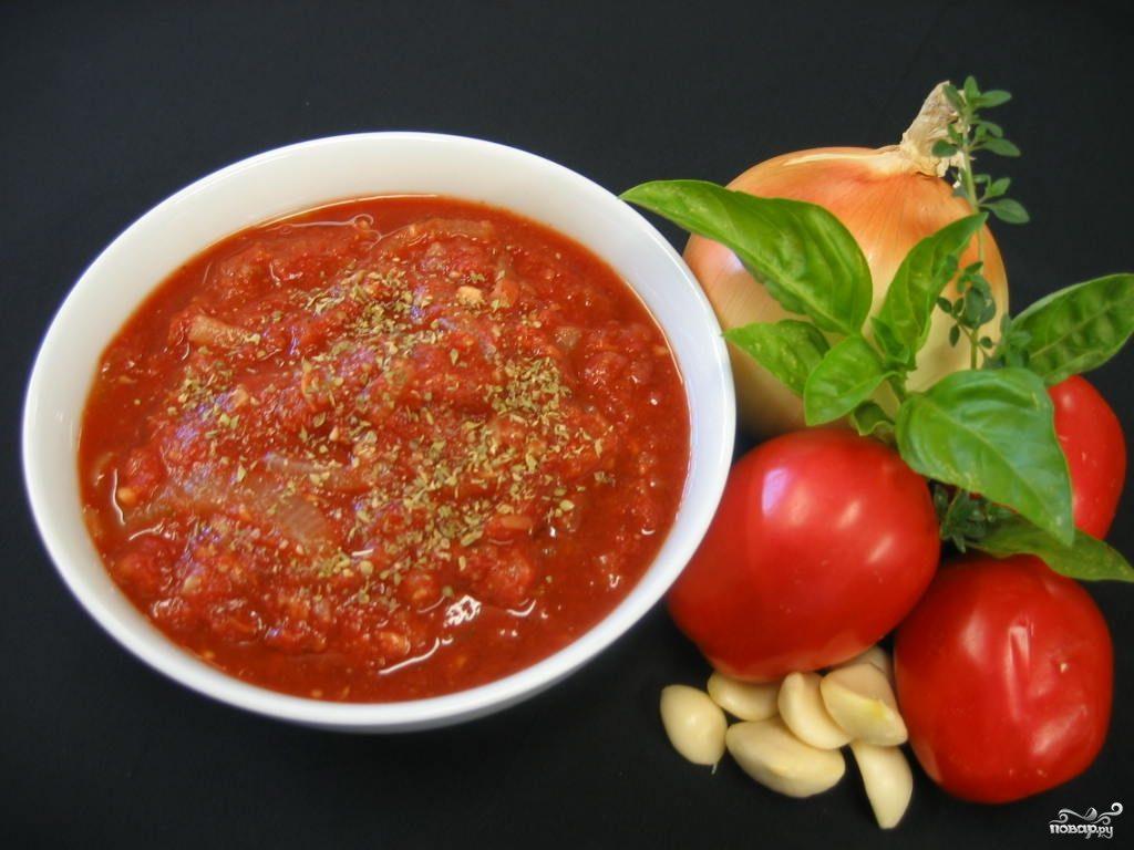 Рецепт Томатно-чесночный соус