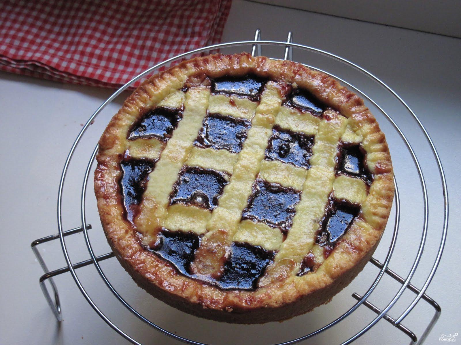 Рецепт Пирог с вишневым вареньем