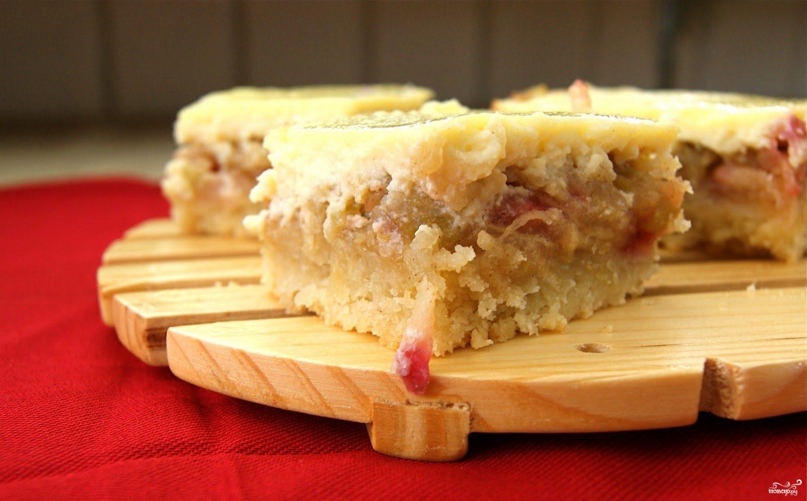 Рецепт Шарлотка с яблоками и творогом