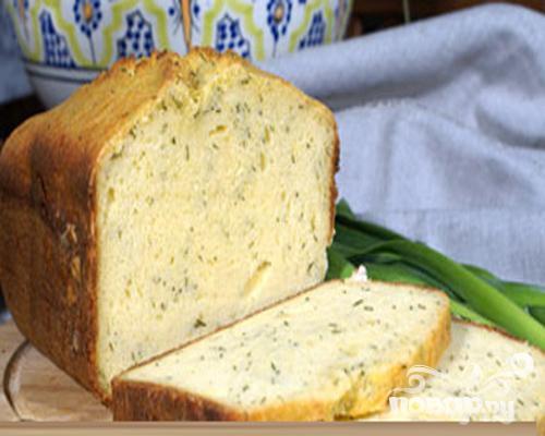 Сырный кекс с укропом - фото шаг 4
