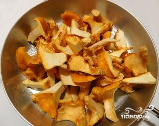 Рецепт Тушеные лисички