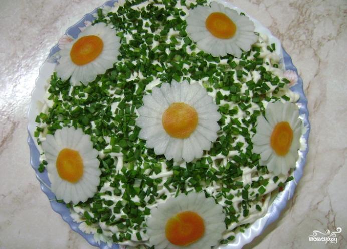 Салат с хреном - фото шаг 4
