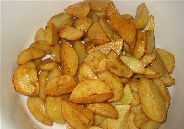 Картофель по деревенски во фритюрнице рецепт