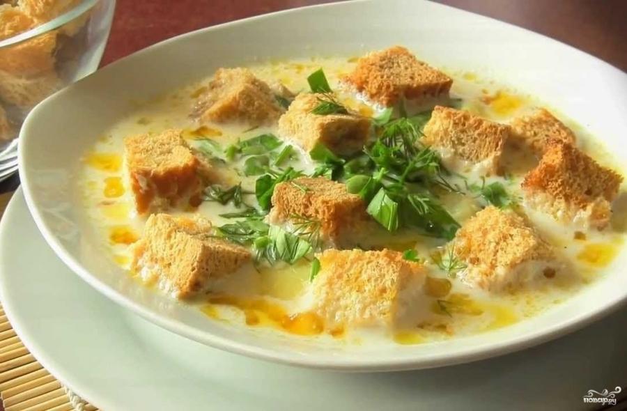 Сырный суп со сливками - фото шаг 6
