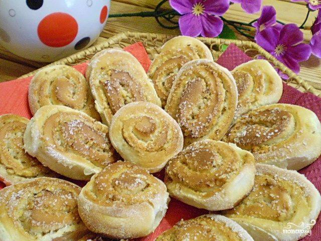 Печенье из дрожжевого теста