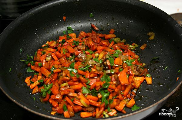 Салат из чечевицы с копченой рыбой - фото шаг 2