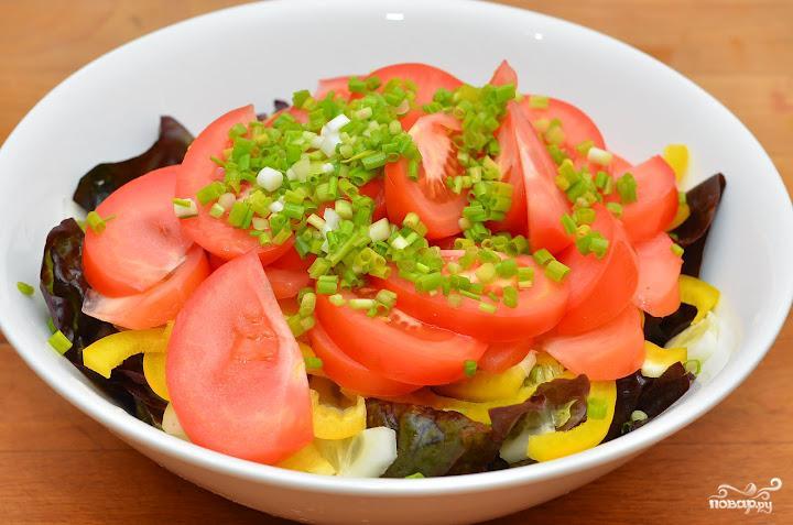 Салат с лимонной заправкой - фото шаг 4