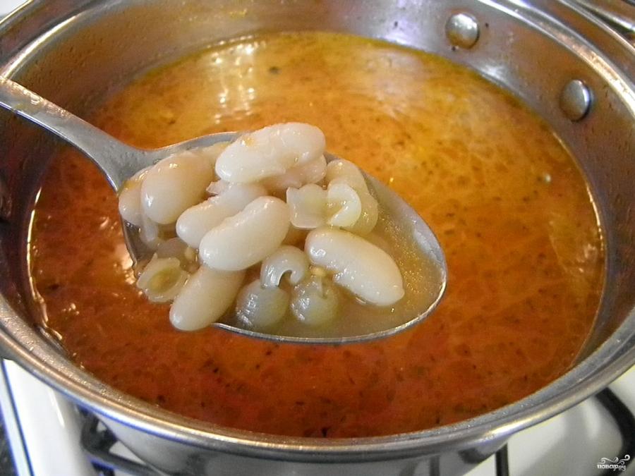 Суп с бобами - фото шаг 6