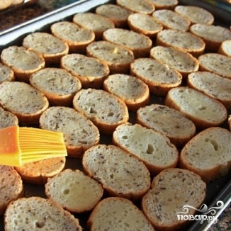 Гренки с сыром и морковью - фото шаг 9