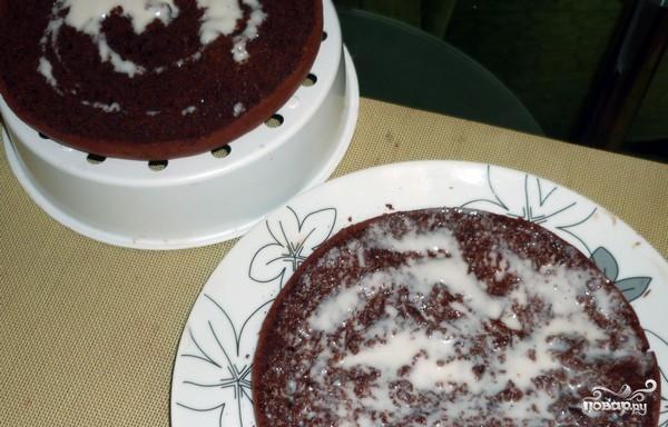 Кофейный пирог в мультиварке - фото шаг 5