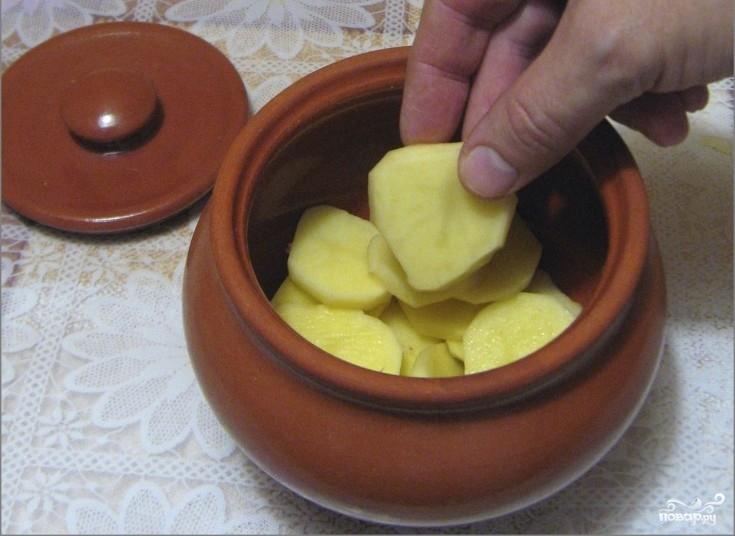 Картофель в горшочках в духовке - фото шаг 5