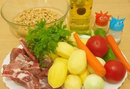 Рецепт Узбекская шурпа из говядины