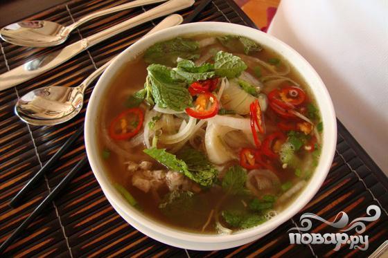 Рецепт Тайский рыбный бульон