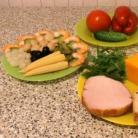 Рецепт Канапе из мяса и овощей