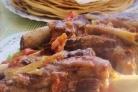 Мясо на кости в мультиварке