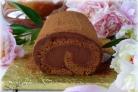 Рулет с шоколадным кремом