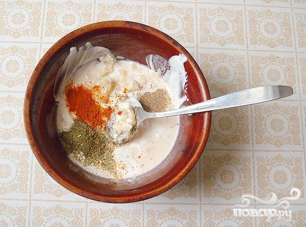 Курица в сметанно-сырном соусе - фото шаг 2
