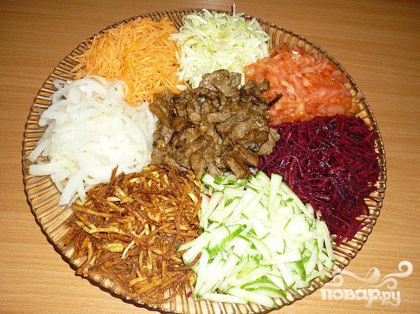 салат чафан рецепт с фото пошаговый рецепт