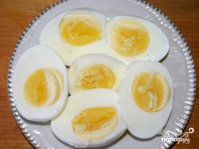 Рецепт Яйца с майонезом и чесноком