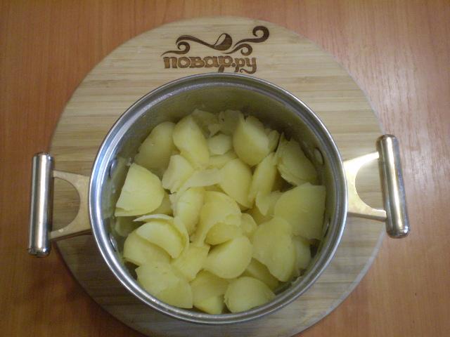 Картофель под сырным соусом - фото шаг 7