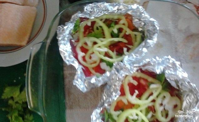 Голец с овощами - фото шаг 4