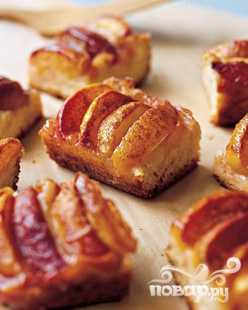Рецепт Бабушкин персиковый пирог