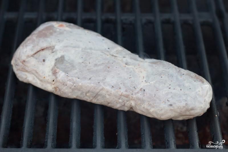 Стейк из говядины на гриле - фото шаг 2