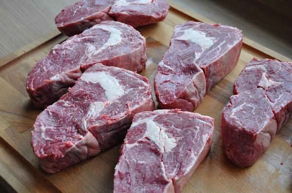 Рецепт Антрекот говяжий