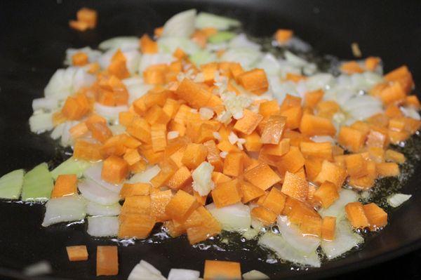 Рецепт Вегетарианский лагман