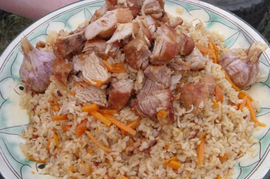 Плов узбекский с говядиной - фото шаг 5