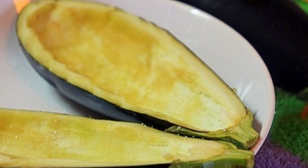 лодочки баклажаны запеченные в духовке рецепт с фото