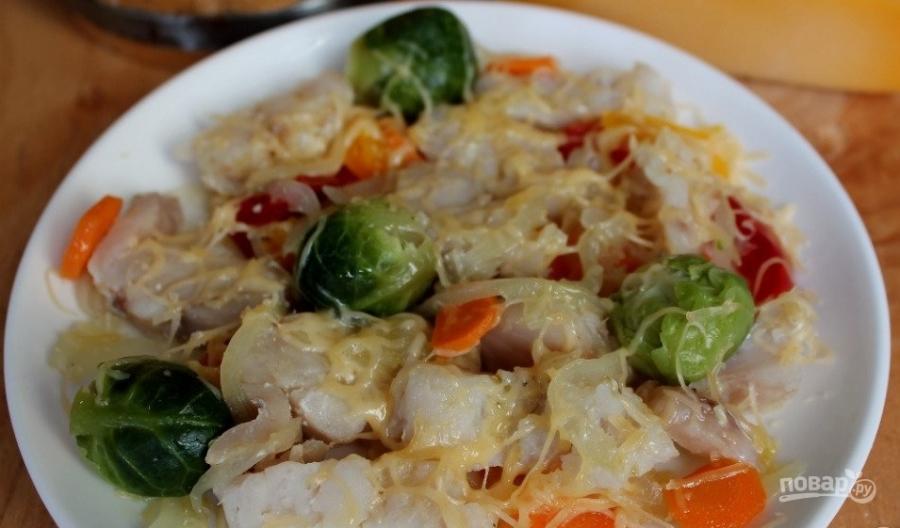 Рыба с овощами в пароварке - фото шаг 5
