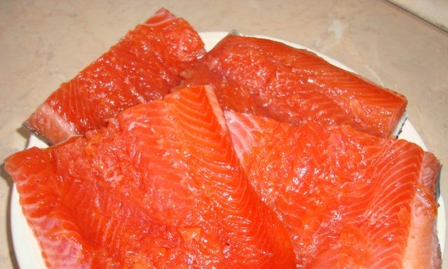 Как вкусно засолить красную рыбу в домашних условиях рецепт пошагово 61
