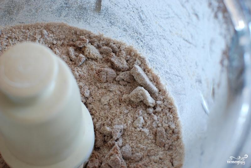 Десерт из персиков и ежевики - фото шаг 5