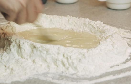Рецепт Вегетарианское тесто для пиццы