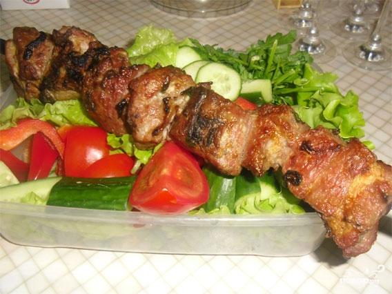 Шашлык по-армянски из свинины
