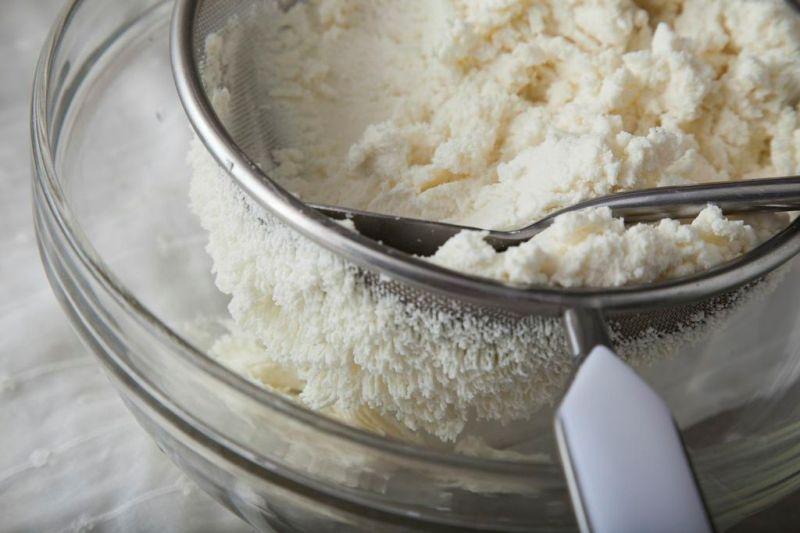 Рецепт Полосатая пасха