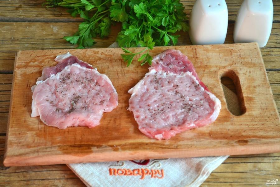 Классические отбивные из свинины