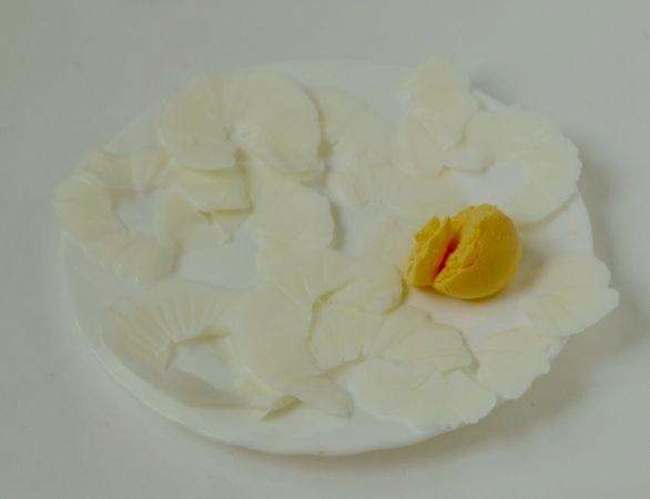 """Салат """"Нежность"""" с сыром - фото шаг 5"""