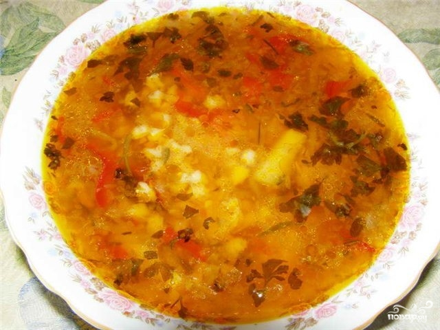 Рецепт Постный капустняк