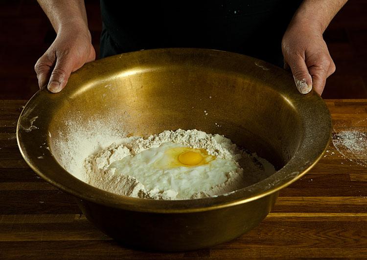 Рецепт Тесто из катыка