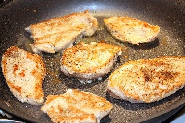 Рецепт Грудки под сливочным соусом