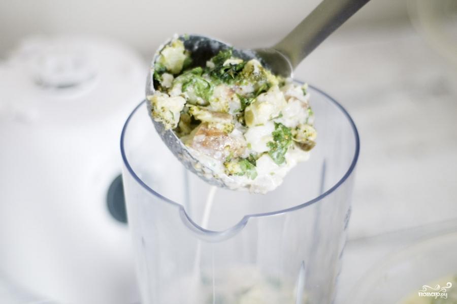 Сырный суп-пюре с брокколи - фото шаг 8