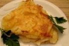 Картофельная запеканка со сметаной