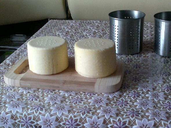 Сыр белорусский в домашних условиях - фото шаг 8