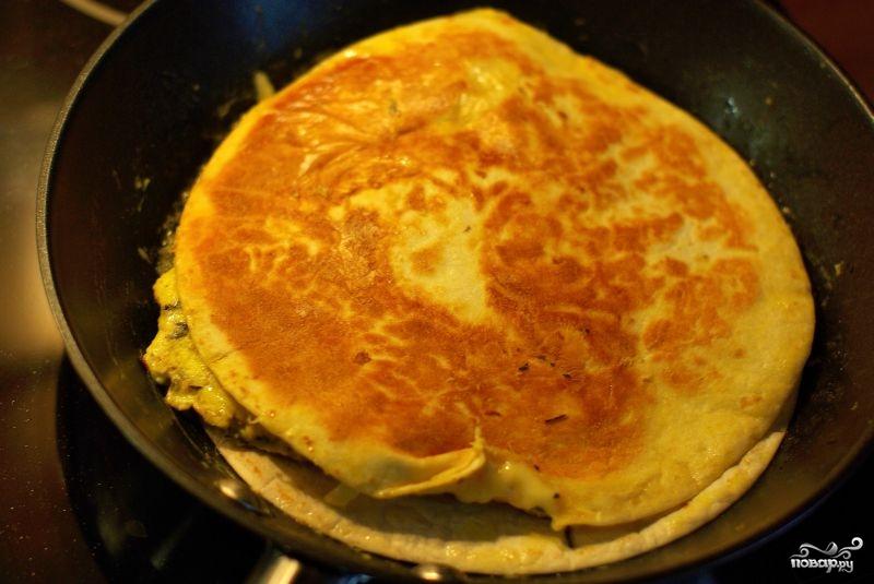 Кесадилья с сыром - фото шаг 6