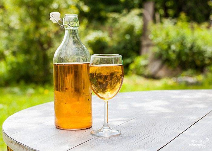 Рецепт Яблочное вино без дрожжей