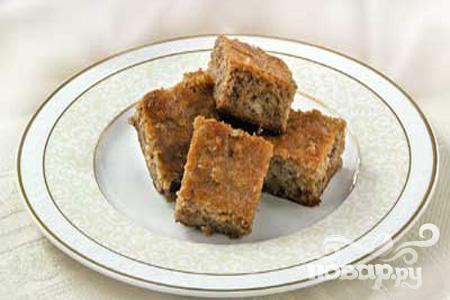 Рецепт Ореховый пирог по-гречески